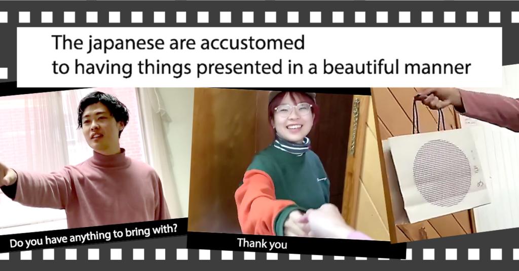 日本の手土産文化を動画で紹介