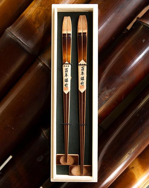 記念日の贈り物としても人気の煤竹箸