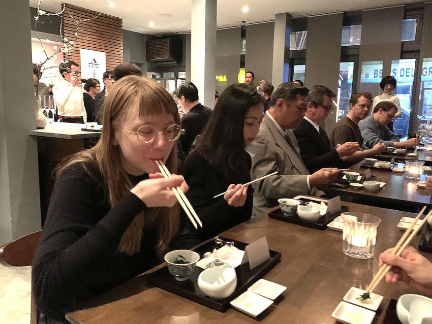 NY 八女茶イベント