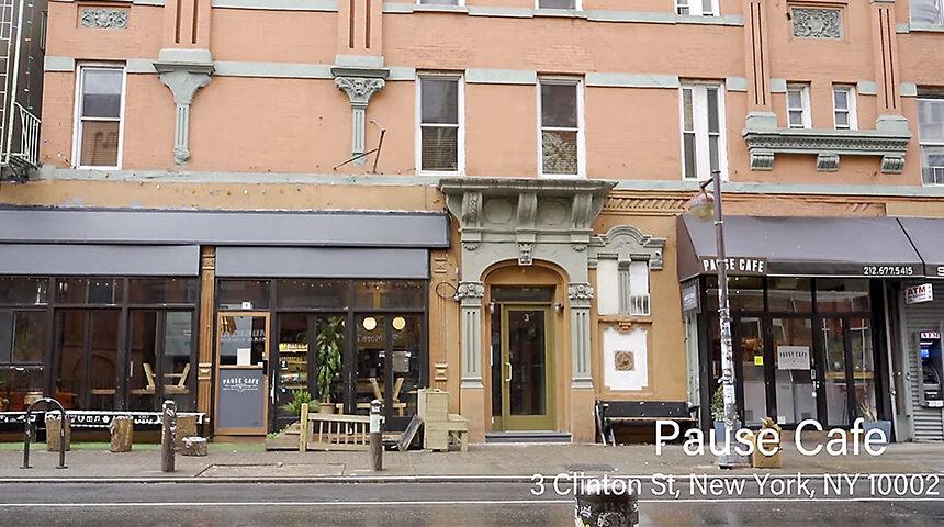 NYの有名カフェ